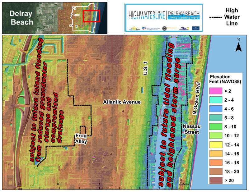 Elevation Maps HighWaterLine Delray Beach